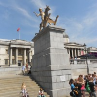 Trafalgar Square - czwarty postument