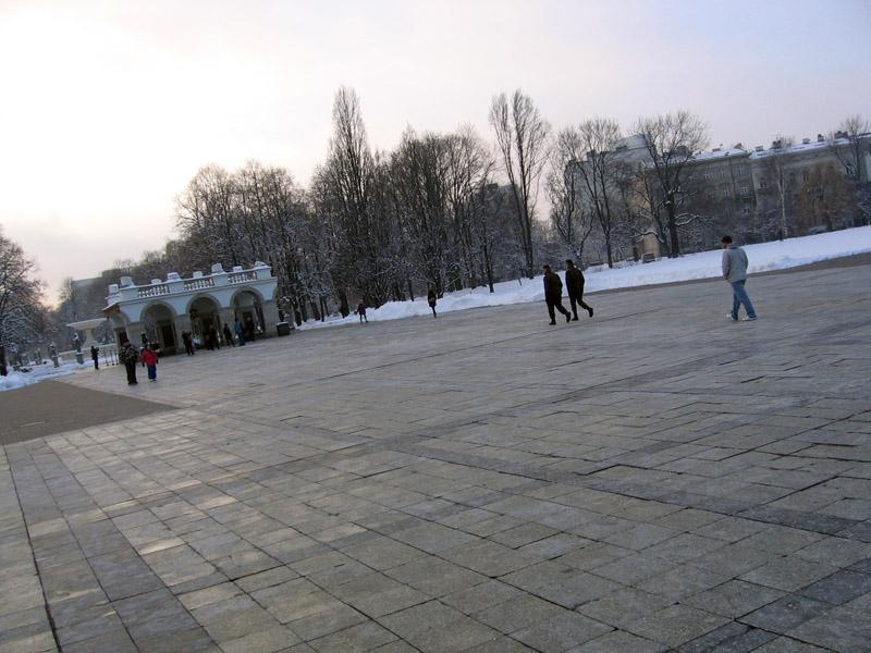 Plac Piłsudskiego - stan obecny