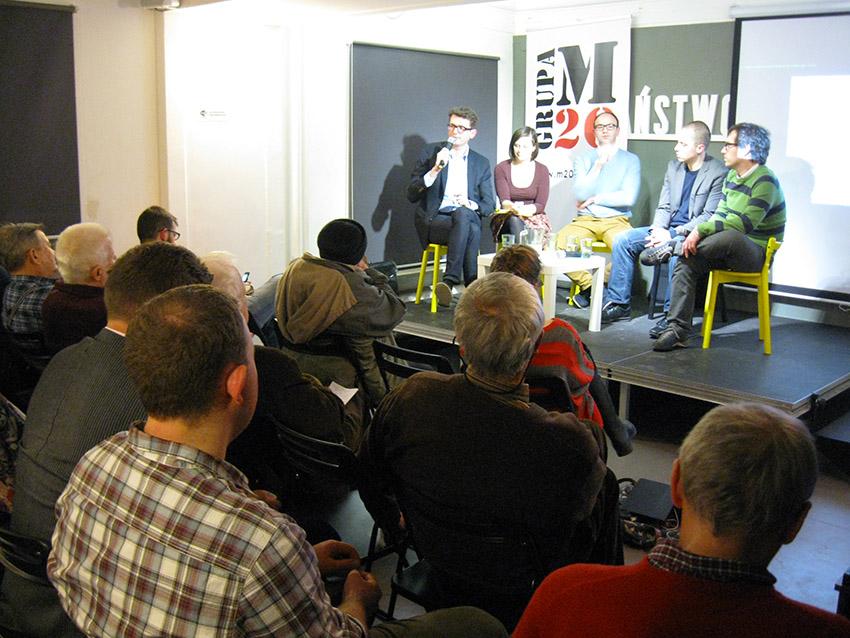 Debata o planowaniu oraz o MPZP Osi Saskiej