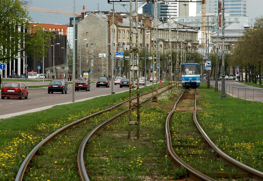Linia tramwajowa w Tallinnie. fot hannu.oskala