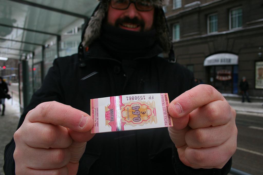 W Tallinie bilety komunikacji miejskiej obowiązują jedynie przyjezdnych. fot. Horacio González Diéguez