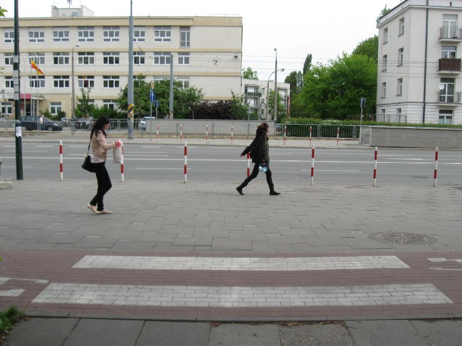 Tu mogłoby powstać nowe przejście dla pieszych.