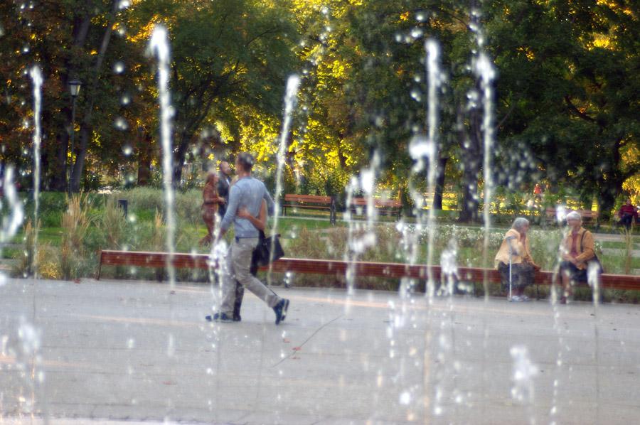 Ogród Krasińskich po remoncie - fot. Witold Weszczak