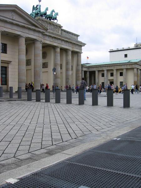 Wentylatornia i Brama Brandenburska