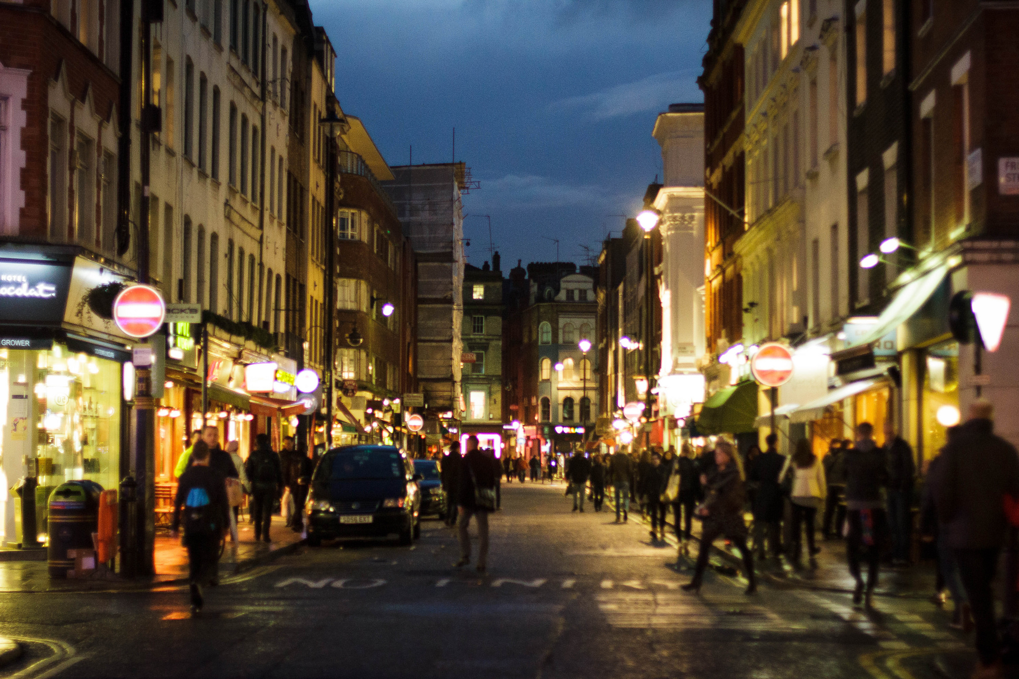 Old Compton Street (by Marc Roberts)