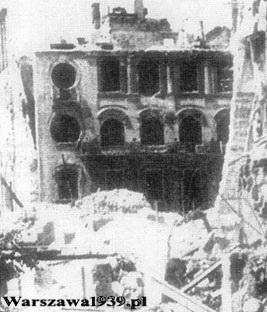 Kamienica Tołwińskiego w 1945 lub 46 roku
